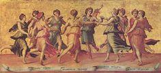 The Nine Muses, Giulio Romano