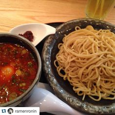 #regram from @ramenronin  #R1 - Okay we're starting to build a Ramen profile in Toronto now thanks to  Ramen fiends like @ramenronin and the Kara Tsukemen he had from Toronto Canada ! Santouka Ramen is a Ramen chain (Hokkaido Ramen Santouka) originating from Hokkaido Japan since 1988 with stores across Japan North America Asia and South East Asia Santouka Ramen is known for it's beautiful white mile and gentle Tonkotsu. What really caught our eye with this particular Tsukemen was the sheer…