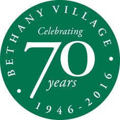 We're celebrating 70 years of Faithful Caring at Bethany Village in 2016!