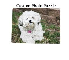 personalized photo puzzle, custom puzzle, photo gift puzzle, gift for kid, kid's gift, gift for him, gift for her, stocking stuffer