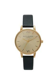 **Olivia Burton Midi Dial Black Watch - Watches - Bags & Accessories