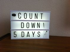 Counting down till New Year