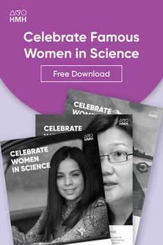 Celebrating Famous Female Scientists Who Had Impacted the World Science Resources, Learning Resources, The Learning Company, Middle School Science, Women's History, High School Students, Famous Women, Scientists, Esl