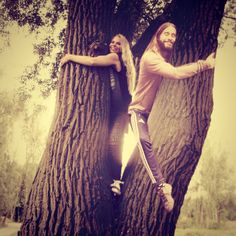 Treehugging with Jared leto