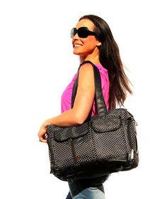 Black Nappy Bag, Black Diaper Bag, Black Diaper Bag, Baby bag, Black baby bag, Baby Buy Direct   Baby Buy Direct