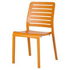 Chaise de jardin Charlotte orange