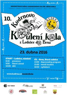 Lednice to Brno wooden wheel rolling race