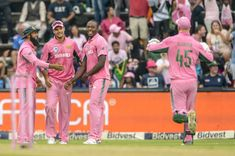 rained sixes - plus actual rain - at the Wanderers on Saturday as the Proteas staged an impressive comeback against India to keep the six-match series alive. Pink Day, Comebacks, Beats, Stage, African, India, Sports, Rain, Hs Sports