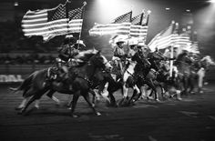 Grand National Rodeo Drill Team - America!