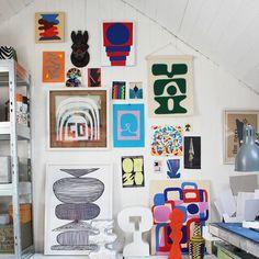 Loft studio. #drawing #painting #collage #screenprint #studio