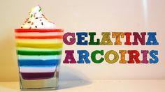 Deliciosa Gelatina Arcoiris