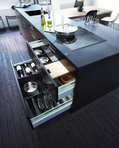 Leicht kitchen Kanto by zZz Studio | Inspirations Area