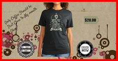 """""""You Are Not Coffee"""" – T-Shirt for Coffee Lovers #ProductReview 