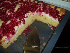 Rezept: Ribisel - Topfenkuchen