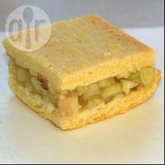 Recipe Print Apple Slice recipe - All recipes Australia NZ Healthy Recipes, Apple Recipes, Sweet Recipes, Baking Recipes, Cake Recipes, Dessert Recipes, Fruit Recipes, Grandma's Recipes, Brownie Recipes