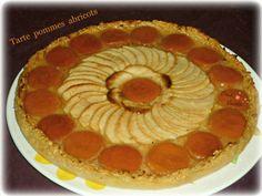 Je pense que beaucoup d'entre vous connaissent la * Tarte pomme pomme * Je fais des variantes et c'est super bon !!!!!! Mercredi , c'était les 10 ans d'un de mes petits fils ; il hésitait entre une tarte aux pommes et une tarte aux abricots ... j' ai...