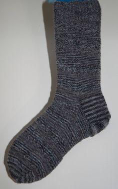 Handknitted Socks Adults in Luxury Yarn by KnitterScarlet on Etsy