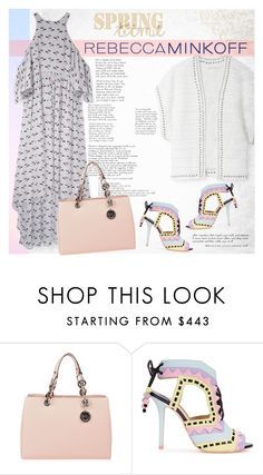 """""""Untitled #907"""" by soyance ❤ liked on Polyvore featuring Rebecca Minkoff, MICHAEL Michael Kors, Sophia Webster, women's clothing, women, female, woman, misses, juniors and contestentry"""