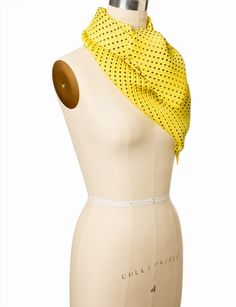 Pleated Disco Dots Scarf from THELIMITED.com APP colors