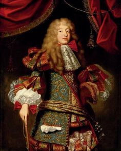 Louis le Grand Dauphin (1661-1711) as an adolescent, ca.1680's, French school (private collection)