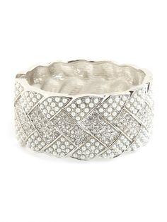 silver luxe cuff / baublebar