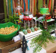 Dinosaurs Birthday Party Ideas | Photo 1 of 18