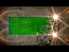 wall collapse E - green screen intro effect with sound - free use Simple Background Images, Green Background Video, Green Screen Video Backgrounds, Free Green Screen, Sound Free, Virtual Studio, Fire Video, Youtube Channel Art, Video Effects