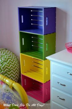 Creative Ideas with Storage Crates for Your Home ★ See more: http://glaminati.com/storage-crates-ideas/
