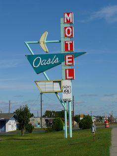 Oasis Motel, Route 66 - Tulsa, Oklahoma