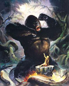 Наверняка многие знакомы с творчеством Кена Келли, одного из главных иллюстраторов жанра фэнтези, оформившего альбомы таких рок-групп, как Manowar, Kiss и Rainbow. Тем не…