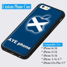 Aye Phone Scotland Scottish Scot