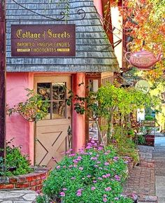 The Cottage Sweets Shop....