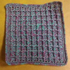 Another dish cloth pattern - free
