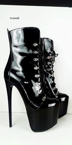 White Black Detail Knee High Boots – Tajna Club Knee High Platform Boots, Thigh High Boots, High Heel Boots, Over The Knee Boots, Heeled Boots, Black Heel Boots, Platform Shoes, Thick Heels, Black High Heels