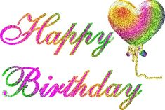Birthday Quotes : QUOTATION - Image : As the quote says - Description Happy Birthday Animations Happy Birthday Glitter Images, Happy Birthday Hearts, Happy Birthday Pictures, Glitter Birthday, Happy 2nd Birthday, Happy Birthday Quotes, Happy Birthday Greetings, 123 Greetings, 50 Birthday