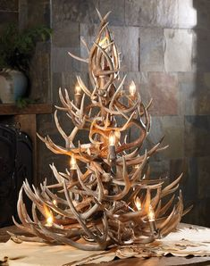 Deer Hunters Christmas Tree