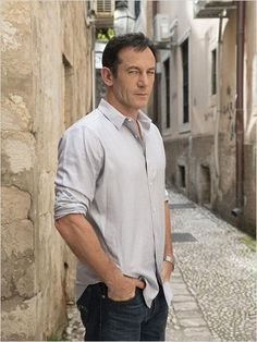 Photoshoot of Jason Isaacs for Dig