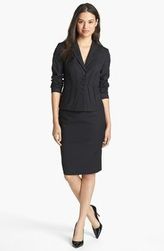 Halogen® Jacket & Skirt, Vince Camuto Top  available at #Nordstrom
