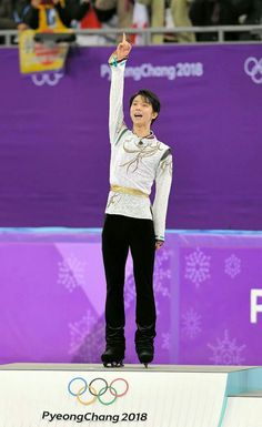 YUZU IS THE WINNER #YuzuruHanyu #PyeongChang2018