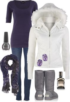 """Snowy Grape"" by alttra on Polyvore"