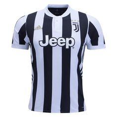 adidas Juventus Home Jersey 17/18 (White/Black)