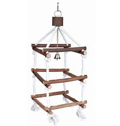 Great for bird rooms, aviaries, and large cages #parrotcagediy #parrotcageideas