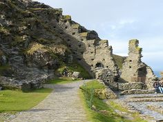 tintagel castle--home to king arthur