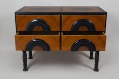 Rondocubistic commode property of Cyril Barton