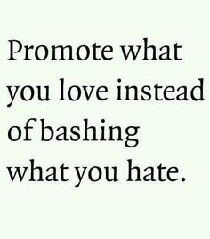Hate begets Hate -