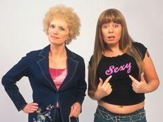 Kath and Kim, the original Aussie version is hilarious :) Amelie, Kim Tv, Chris Lilley, Fancy Dress, Dress Up, Aussie Memes, Moon Costume, Lesbian Wedding, Favorite Tv Shows