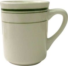 International Tableware Verona™ Toledo Mug American White, 8.5 oz, Ceramic (Case of 36) $51.91 ITW-VE-17