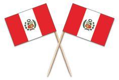 Peru Toothpick Flags #ToothpickFlag.com #MadeintheUSA #MadeinAmerica #Peru #Catering #Event #Party