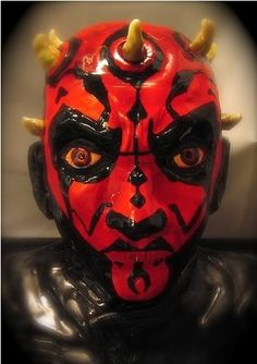 Star Wars cake - Darth Maul - For all your cake decorating supplies, please visit craftcompany.co.uk