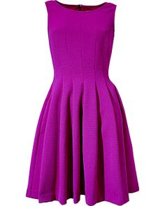 TEXTURED PARTY DRESS RASPBERRY ready to wear dresses no classes fashion